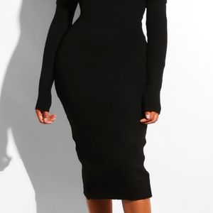 Touch Dolls Dresses - Sexy Off Shoulder Sweater Dress - NEW! - Medium